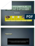 The Developmental of Curriculum of Educational Unity Level (Group VI)