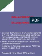 g.boala Parkinson