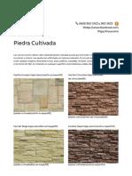 Catalogo Piedras Mazatlan