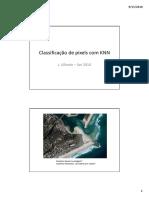 Classificação de Pixels Com KNN