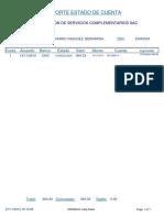 Reporte Estado de Cuenta de 25545004