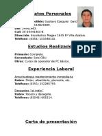 CV Del Indio
