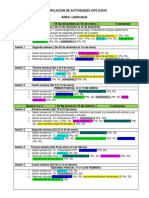 Planificación de Actividades Lenguaje Economía II-16