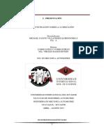 Investigación de Lubricantes - Michael Villacreses Q. - FIA a - Combustibles y Lubricantes