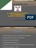 Conocimiento Cientifica (FILOSOFIA)
