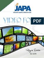 Análisis de Videos Foro