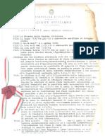 1977 14 Maggio Osservazioni Al Piano Regolatore Generale Approvato Con Delibera Decreto Assessoriale 83 1977 Adottato c.c. 20 Febbraio 1982 Pag 7 Cimitero