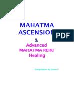 Mahatma Ascension Reiki Manual