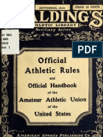 (1910) Handbook of the Amateur Athletic Union