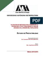 VALIDACIÓN DE MÉTODOS PARA CONSERVAR LA CALIDAD DEL LITCHI Y PROLONGAR LA VIDA DE ANAQUEL.pdf