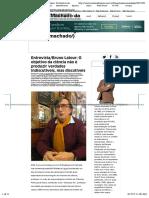 Juremir Machado da Silva | Entrevista:Bruno Latour