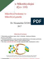 Cevre Mikrobiyoloji 5.Hafta 2017