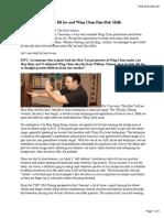 Wing Chun Improvement