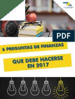 eBook 6 Preguntas de Finanzas Que Debe Hacerse en 2017