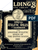 (1920) Handbook of the Amateur Athletic Union