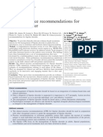 Clinical Practice Recommendations for Bp d