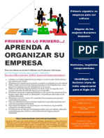 1. Diseño Organizacional Final