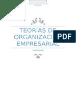 Teorías de Organización Empresarial