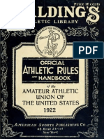 (1922) Handbook of the Amateur Athletic Union