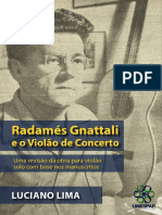 Luciano Lima Radames Gnattali e o Violao de Concerto