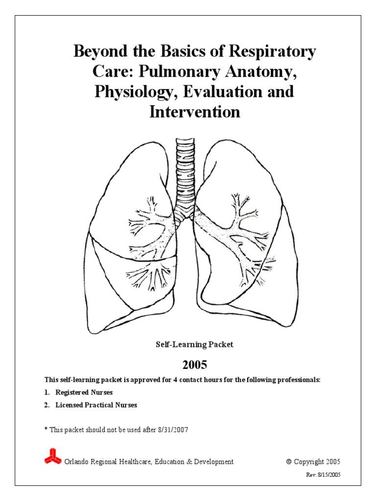 Beyond the Basics of Respiratory Care - Anatomy, Physiology ...
