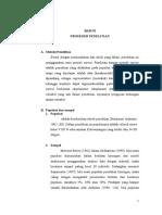 Kuantitatif - Pengaruh Kebiasaan Membaca Dan Koleksi Buku Terhadap Prestasi Belajar - BAB III