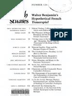 Bjornstad, Ibbett - Walter Benjamin's Hypothetical French Trauerspiel