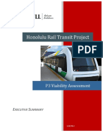 Executive summary of the Honolulu Rapid Transit Project