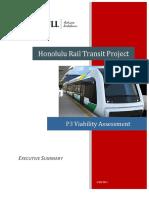 Executive summary of the Honolulu Rapid Transit Project