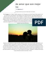 10 Poemas de Amor Que Son Mejor Que Un Te Amo