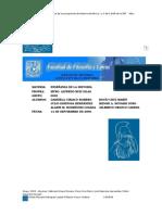 Los Contenidos Del Programa de Historia de México II de La Dirección General de Bachillerato de La Secretaría de Educación PúblicaDEF