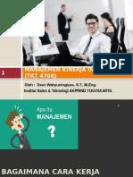 2. Model Manajemen Kinerja Industri, Perencanaan