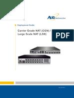 a10-Dg-carrier Grade Nat Cgn Large Scale Nat Lsn