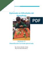 DIVERSIFICACIÓN CURRICULAR PARA EL AULA