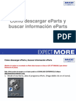 How to Download EParts and Look Up EParts Information Spanish (1)