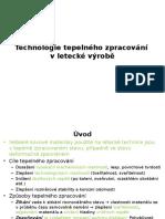 OT1-Technologie Tepelného Zpracování