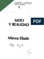 2- ELIADE, Mircea - MITO Y REALIDAD - CAP 1 Y 2 - La estructura de los mitos-.pdf