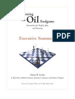 Winning The Oil Endgame (Summary)
