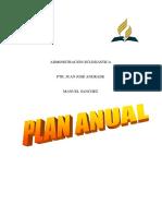 Plan Anual de Iglesias