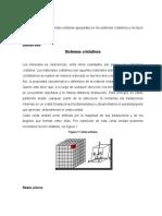 Sistemas Cristalinos y Enlaces Atomicos