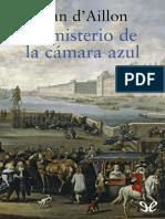 Aillon, Jean d - [Louis de Fronsac 2] El Misterio de La Camara Azul [19753] (r1.0)
