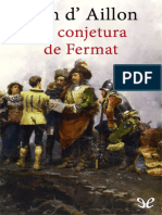 Aillon, Jean d - [Louis de Fronsac 4] La Conjetura de Fermat [19867] (r1.1)