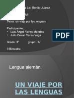 Un Viaje Por Las Lenguas