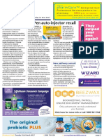 Pharmacy Daily for Tue 21 Mar 2017 - EpiPen auto-injector recall, NatRUM alerts to meds disposal risks, Pharmacist suspended, Guild Update and much more