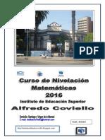 Matemática Ingreso Al Coviello-2016