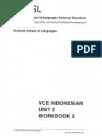 VSL Indonesian Unit 2 Workbook 2