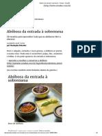 Abóbora Da Entrada à Sobremesa - Paladar - Estadão