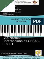 normas OHSAS