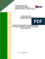 A Cultura de Conceição Do Araguaia Presente Nos Cordéis de Menelão Cleomar de Carvalho e Fortes Sobrinho