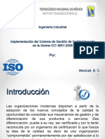 Implementación del SGC basado en la Norma ISO 9001:2008